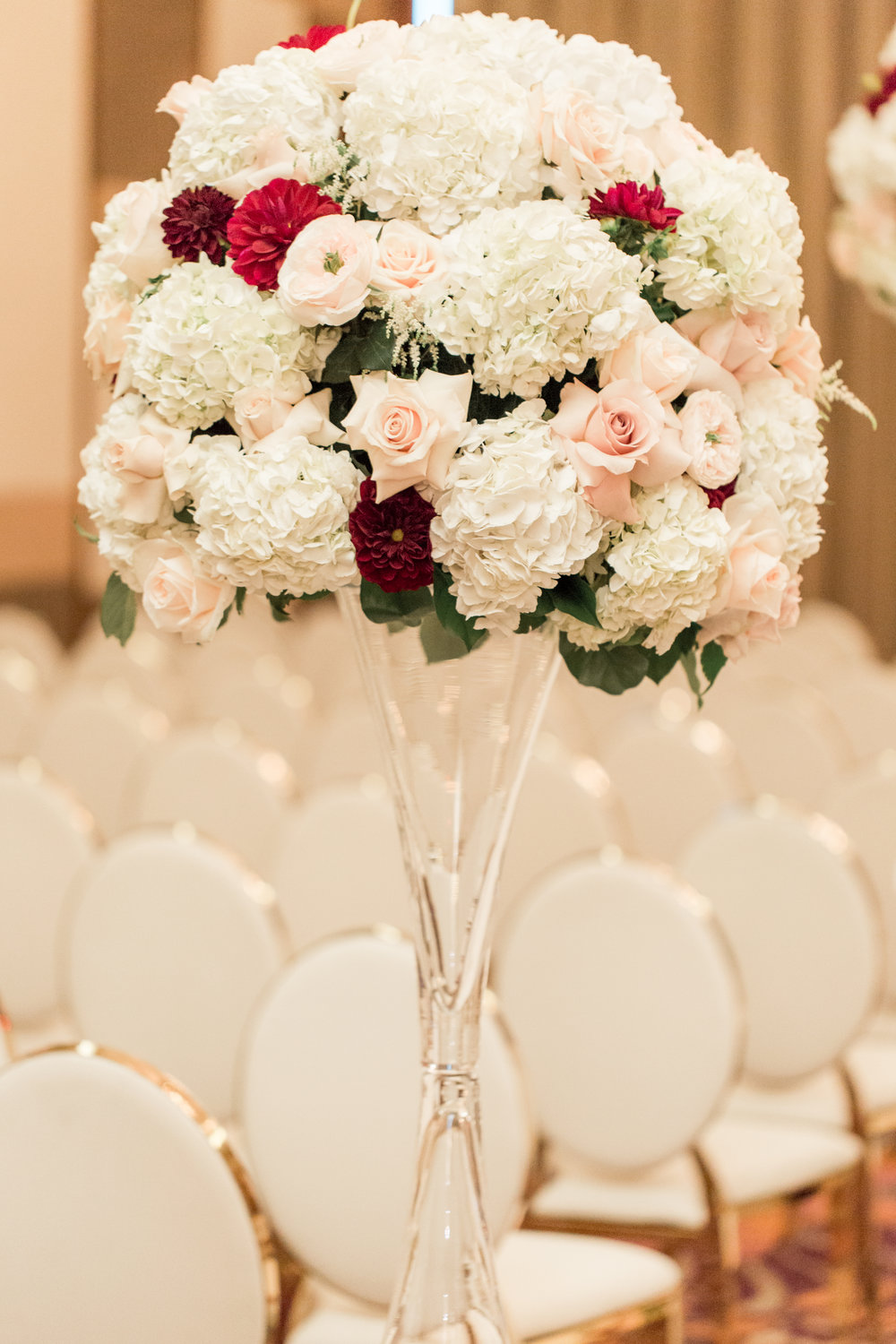 Andrea eppolito events las vegas wedding planner chinese white and red wedding flowers mightylinksfo