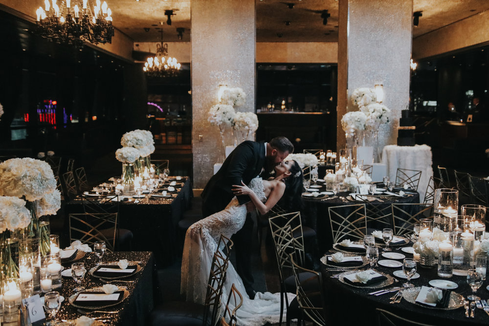 New Year's Eve Wedding by Las Vegas Wedding Planner Andrea Eppolito.
