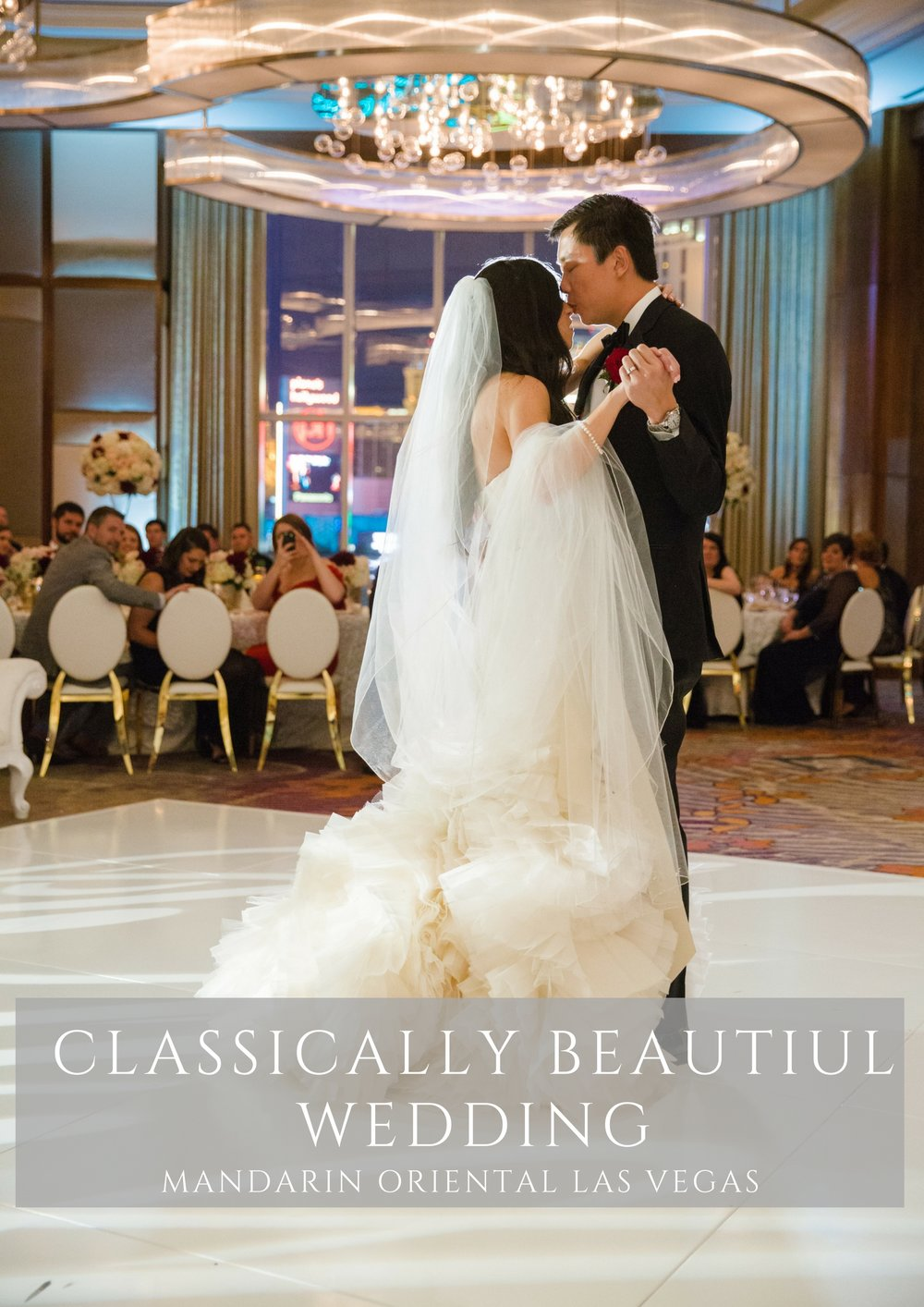 Classically beautiful wedding by Las Vegas Wedding Planner Andrea Eppolito.  Photos by Stephen Salazar.