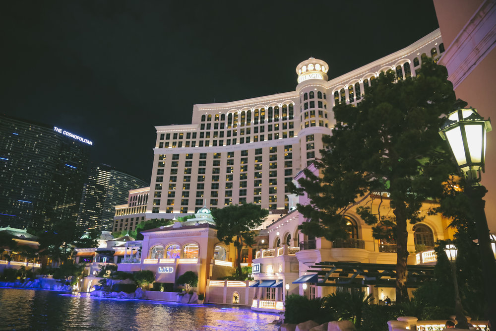 Las Vegas Wedding Planner Andrea Eppolito presents the Bellagio for the wedding of Laura and Muneeb.