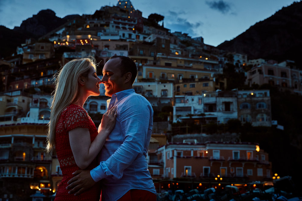 Laura and Muneeb took engagement photos in Rome, and are hosting a destination wedding at The Bellagio Las Vegas. Wedding Planner Andrea Eppolito. Photo by   D2 Photography .