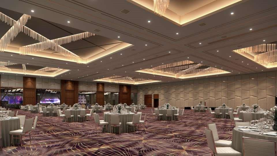 Ballroom weddings in Las Vegas with indoor outdoor space.  Phoot provided by ARIA Las Vegas.