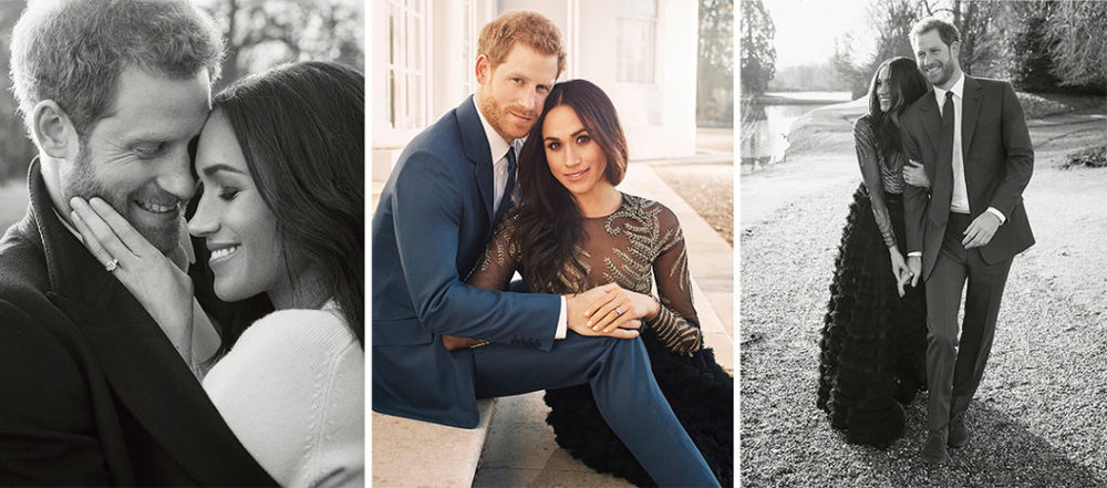 Miss Meghan Markle and Prince Harry's official engagement photos.   Alexi Lubomirski