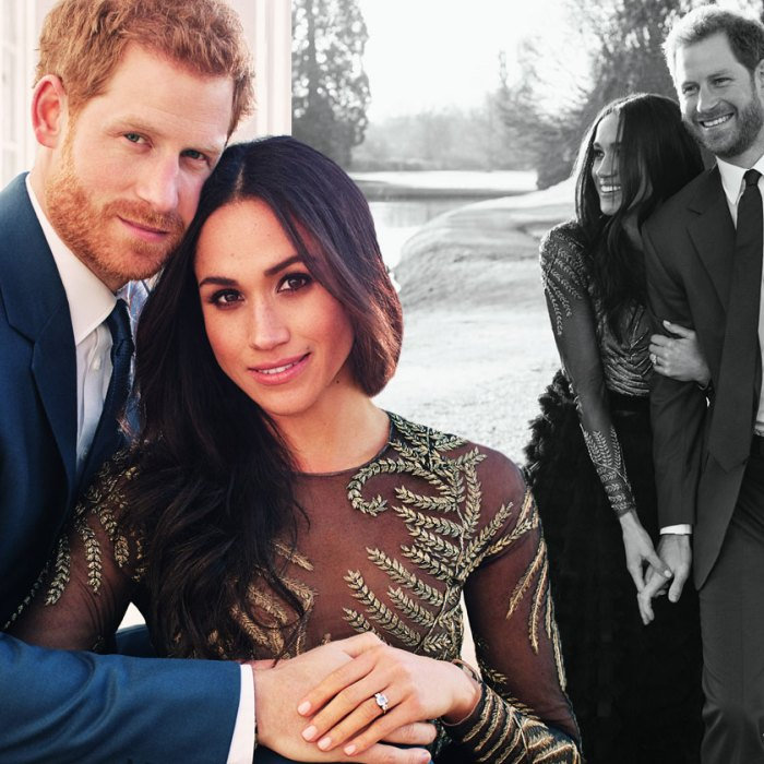 Official Royal Engagement Photos of Meghan Markle and Prince Harry by  Alexi Lubomirski