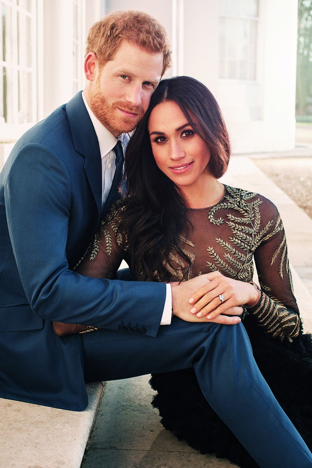Meghan and Harr's Engagmenet Photos.   Alexi Lubomirski