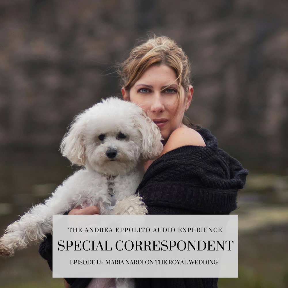 Maria Nardi on Podcast as Special Correspondent