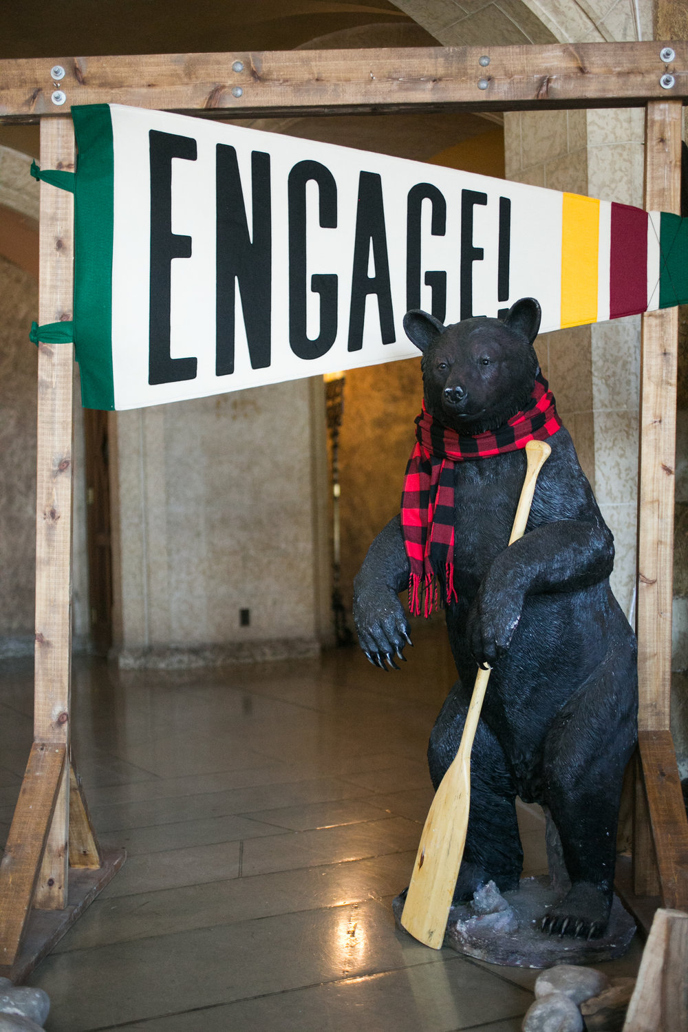 Welcome to Banff Bear at the Fairmont.  Photo by Love Life Images.