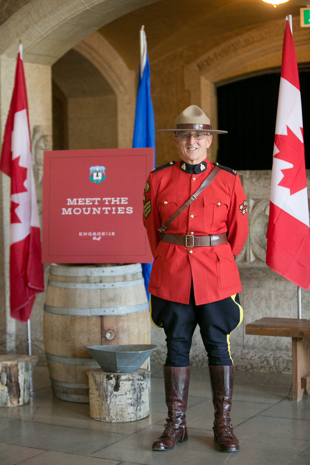 Oh, Canada! Canadian Mountie. Photo by Life Life Images