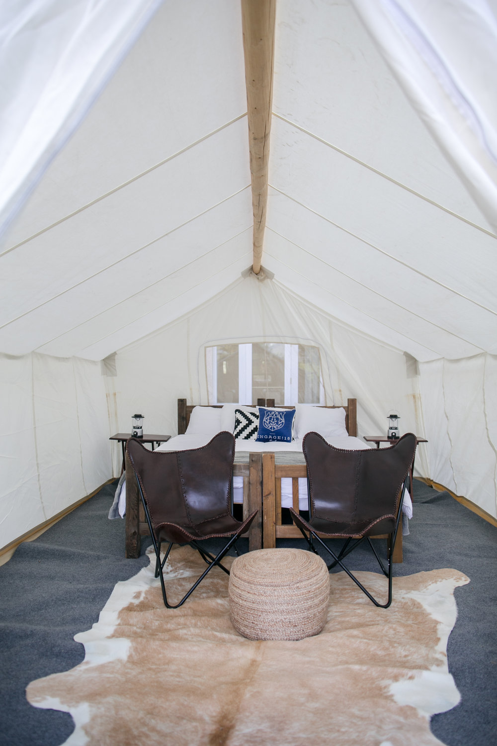 Glamping set ups in the Canadian Rockies. Love Life Images.