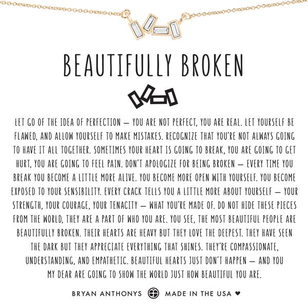 Beautifully Broken Necklace