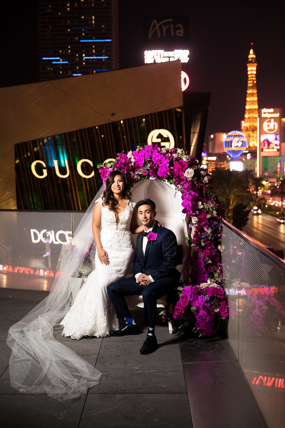 High end wedding in Las Vegas