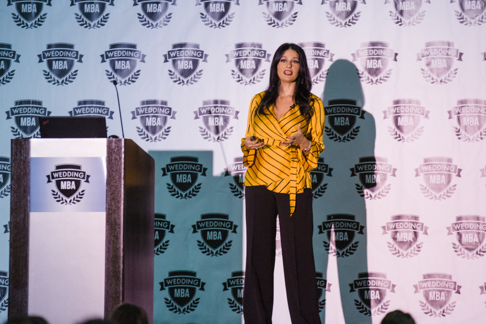 Female speaker & Las vegas Wedding Planner talks about how to attract and manage luxury clients.