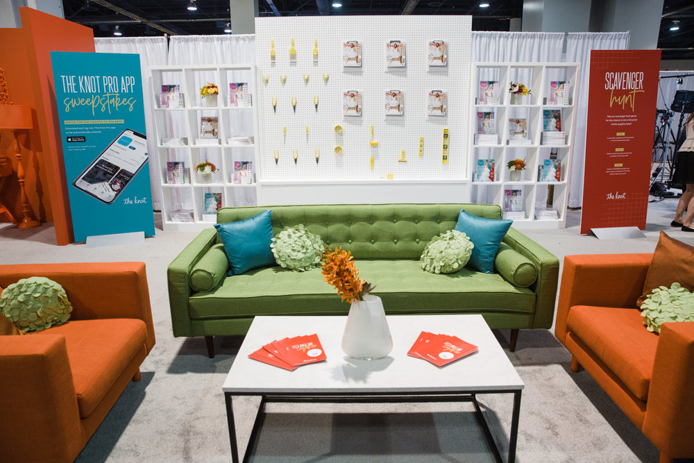 The Knot Pro Booth Wedding MBA 2018