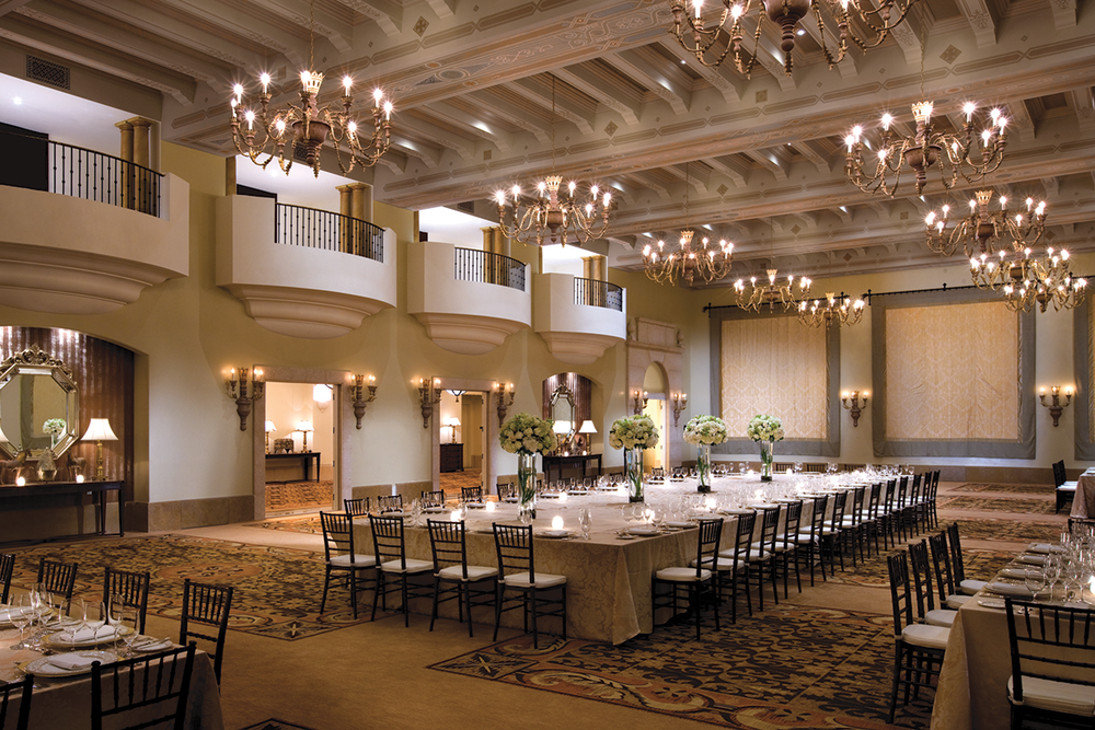 Luxury Wedding in the Ballroom at The Montage Beverly Hills
