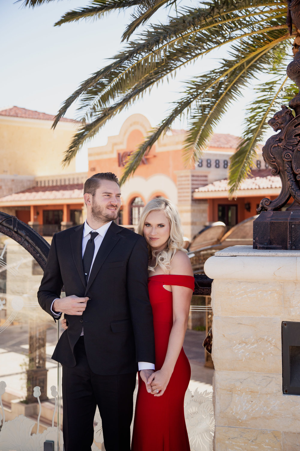 Meet Meagan and Kasey. Their Waldorf Astoria wedding will take place in the summer of 2019. www.andreaeppolitoevents.com. Wedding Planner Las Vegas Andrea Eppolito. Photo by Adam Frazier. Hair and Make Up by Glammed Up Las Vegas.