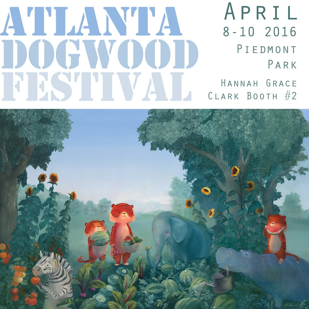 Hannah Grace Clark at Atlanta Dogwood Festival