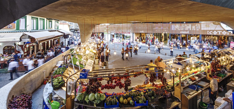 Beşiktaş Balık Pazarı Public Altkat Architectural Photography