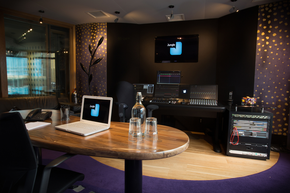 Audio post production studio 3