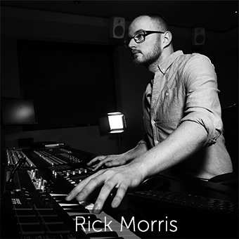 Rick joined Jungle in 2004 and is part of our sound design and engineering team. Musical and creative, Rick also composes for  Native  and has credits for Sony, TFL, Crisis, Budweiser, Sky, Maureen, Santander and many more