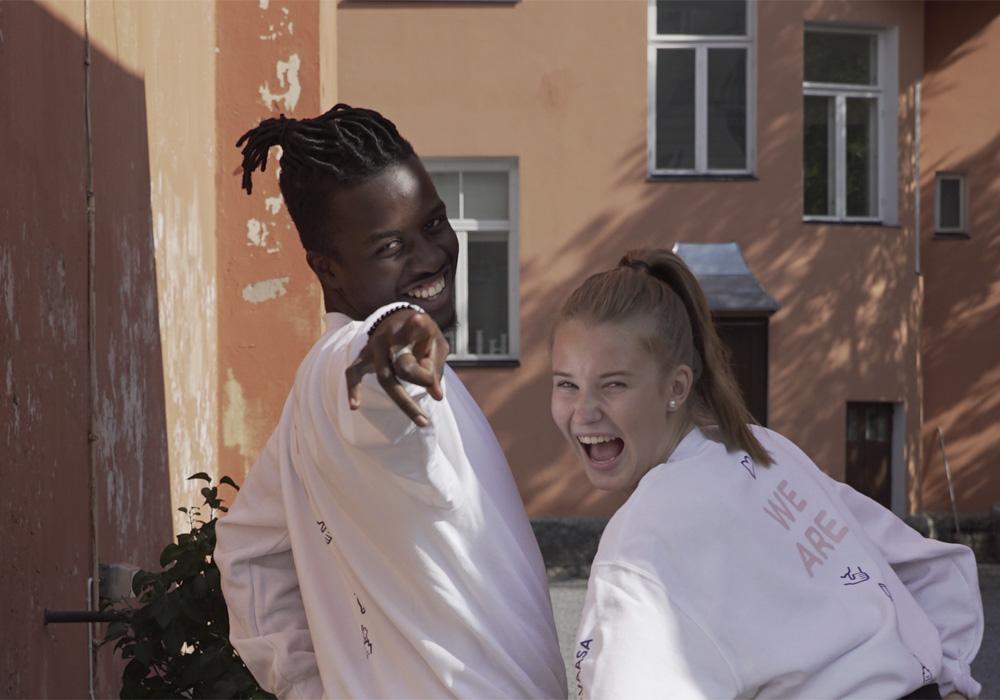 Vaasan nuorisovaltuusto teki toimikaudellaan vaalikampanjan, jota varten otettiin valokuvia. Kuva: Vaasan nuorisovaltuusto
