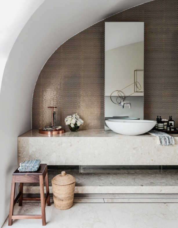 Vogue Living Loom Towels Feature