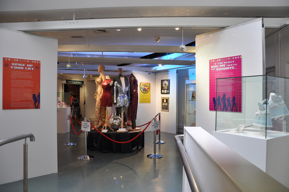 33. Spiceworld The Exhibition, Derry Londonderry, August - October 2012.JPG