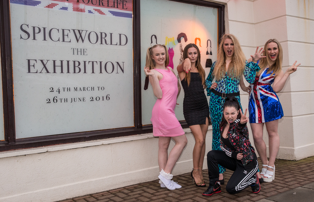 1. Spice Girls Exhibition at Ripley's Blackpool. Photo Credit - Steve Lee, 2016.jpg