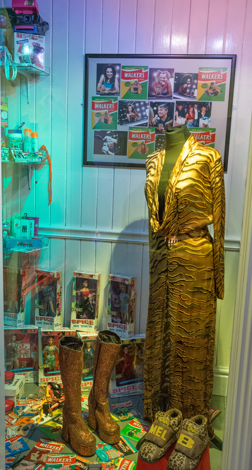 18. Spice Girls Exhibition at Ripley's Blackpool. Photo Credit - Steve Lee, 2016.jpg