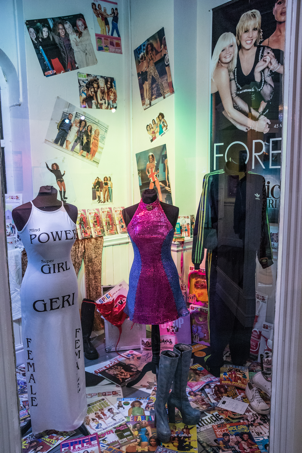 21. Spice Girls Exhibition at Ripley's Blackpool. Photo Credit - Steve Lee, 2016.jpg