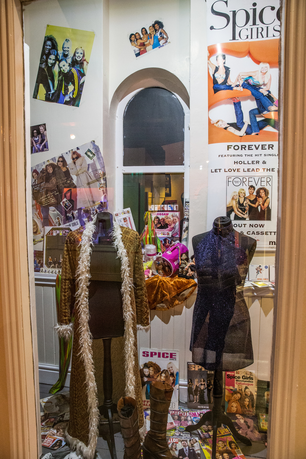 22. Spice Girls Exhibition at Ripley's Blackpool. Photo Credit - Steve Lee, 2016.jpg