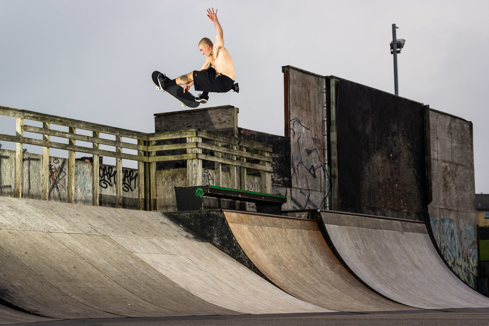 Josh Rounding-Tweaked Frontside Air