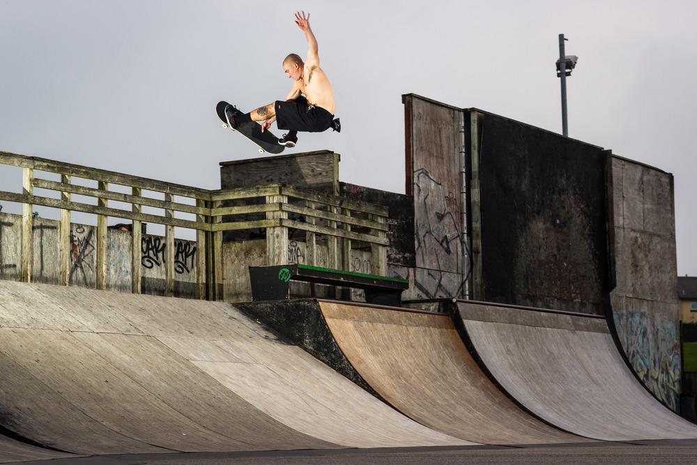 Josh Rounding-Tweaked Frontside Air