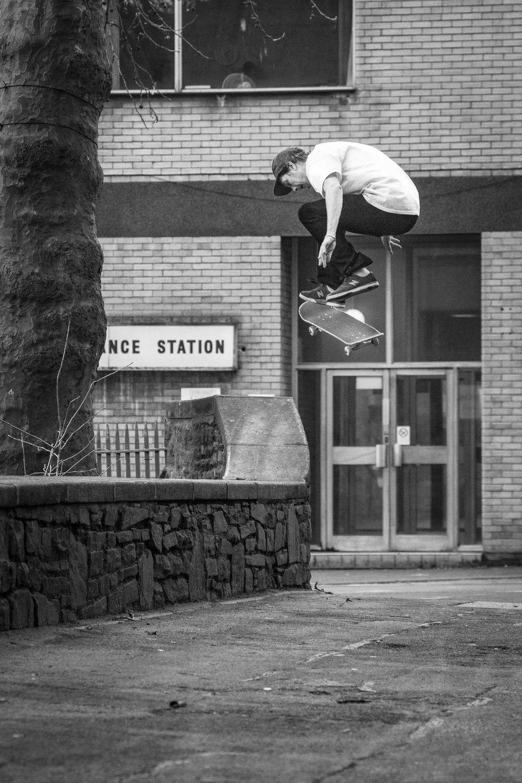 Mark Baines-Nollie Kickflip