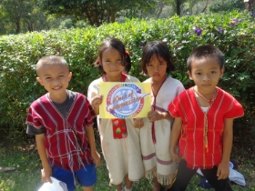Children in Saha Susksa Christian School in Northwest Thailand. Week of Compassion supports the Global Mission Intern Program of Global Ministries. Photo Credit: Nicole Betteridge, Global Mission Intern