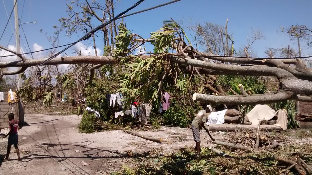 Les Cayes, Haiti: one of the towns hardest hit by the hurricane. Photo: Julien Mulliez/DFID
