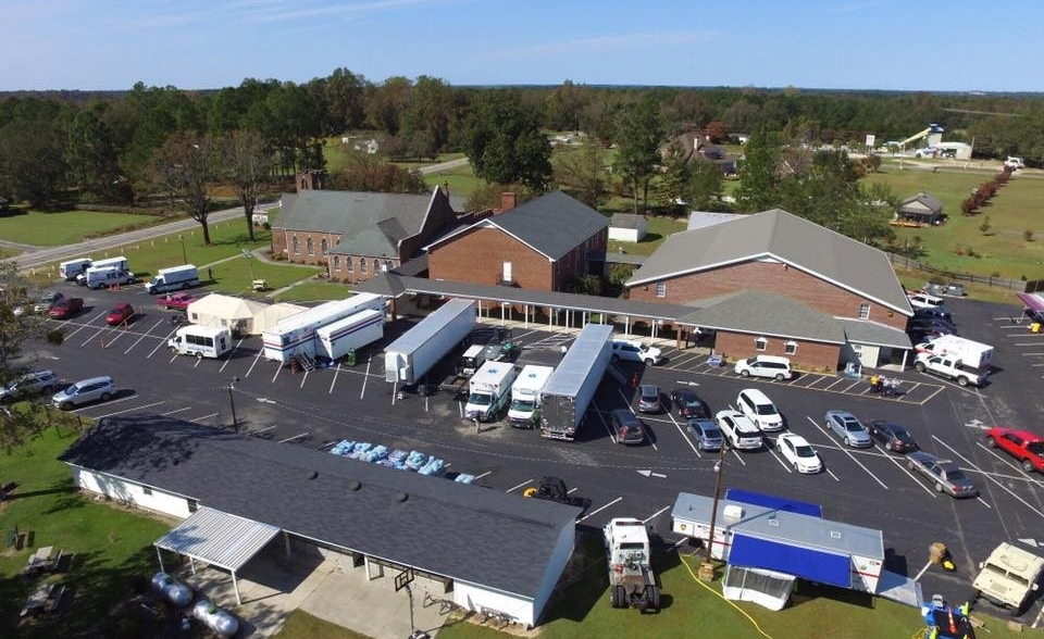 Southwood Memorial Christian Church in Kinston, NC is hosting an emergency mobile medical clinic.