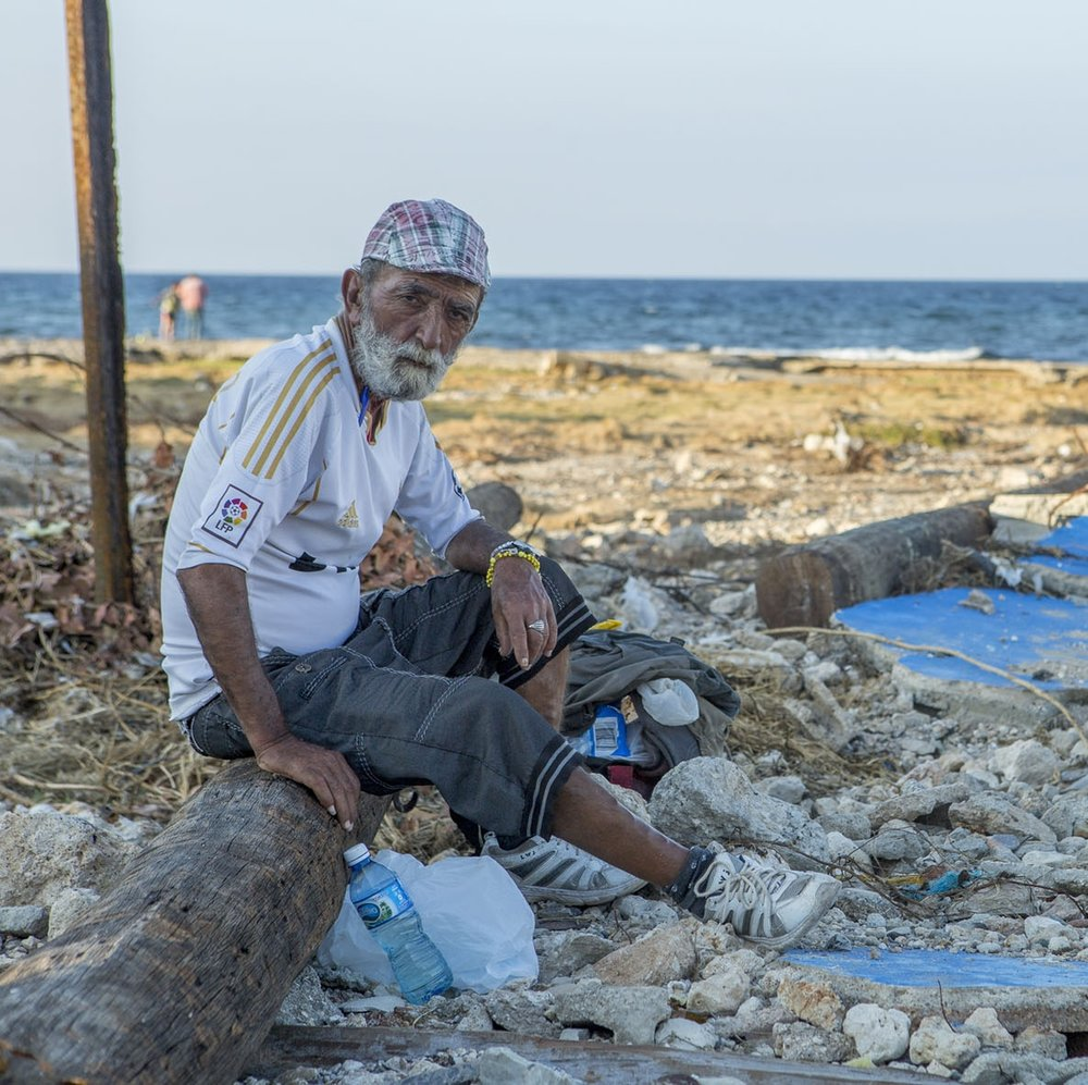 """Photo credit: Erick Coll/ACT Alliance   Hurricane Irma devastated the town of """"Cojímar"""" at the east of Havana in the north coast of the province. Week of Compassion is helping the community rebuild."""
