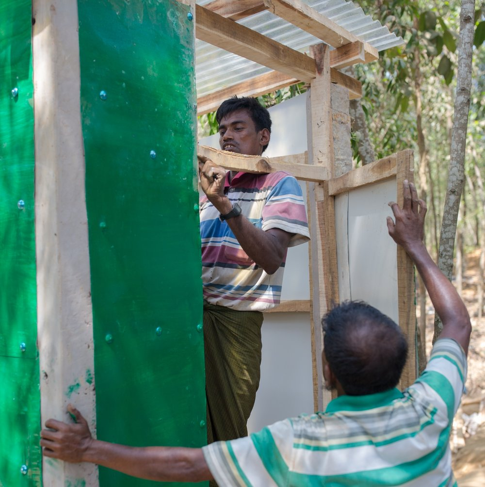 Photo credit: FrameIn/ACT Alliance   Week of Compassion supports communities in improving sanitation and building latrines, which helps prevent water contamination and the spread of disease.