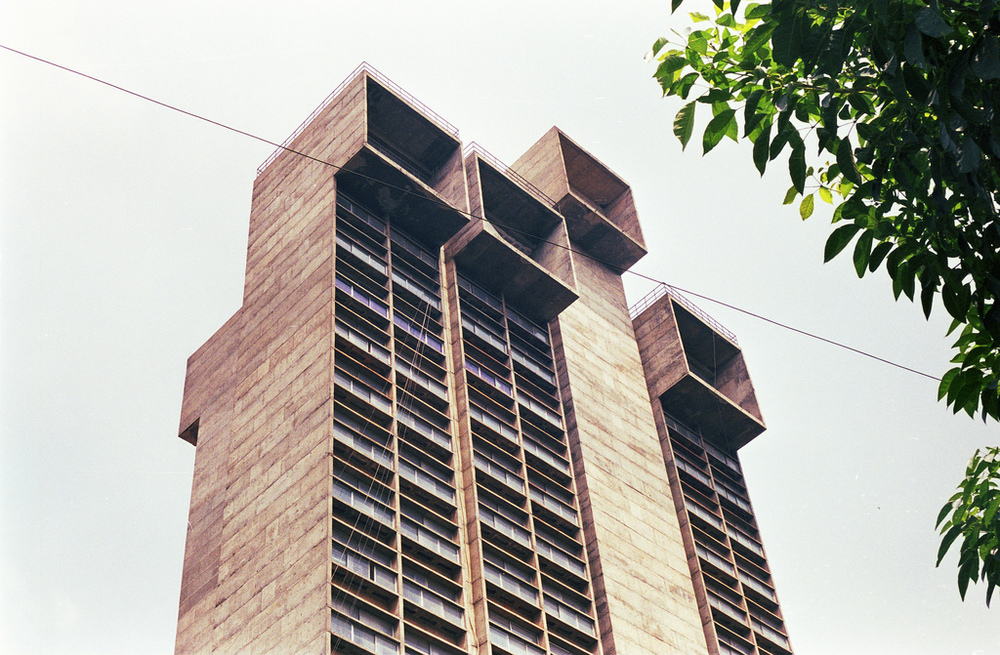 Vishveshwaraiah Towers, Bangalore, India, 1980 Charles Correa