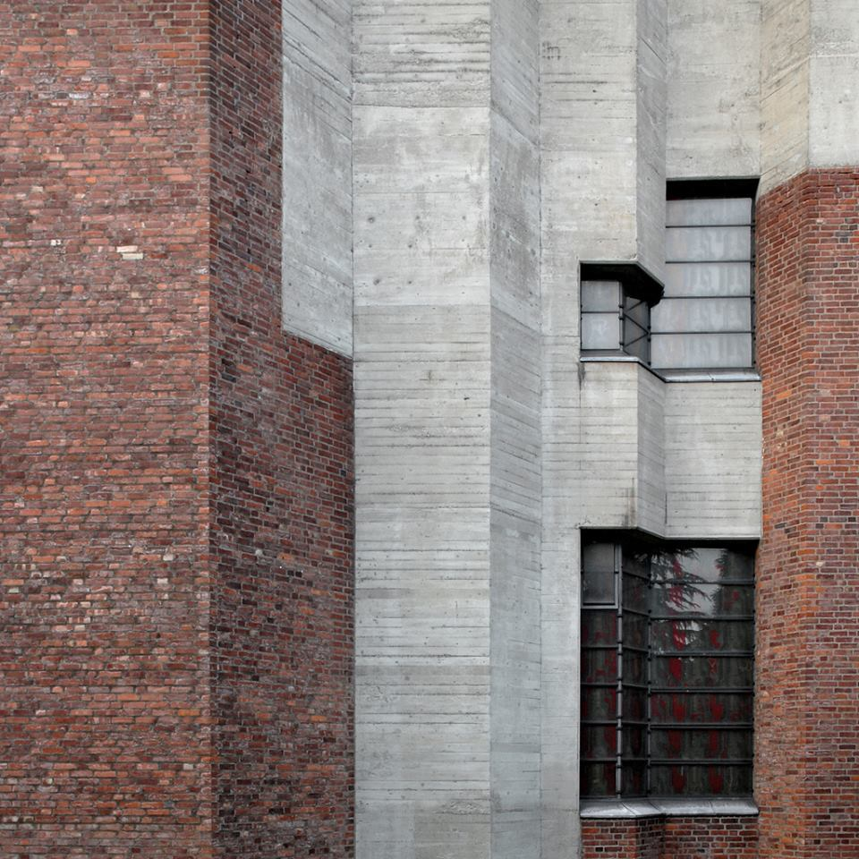 Christi Auferstehung Church, Cologne, Germany, 1968-70   Gottfried Böhm