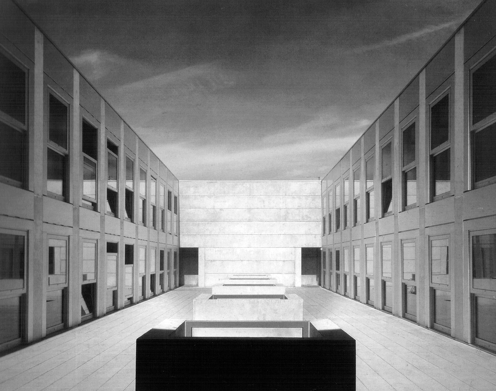 School of Architecture, Nancy, France, 1993-95 Livio Vacchini