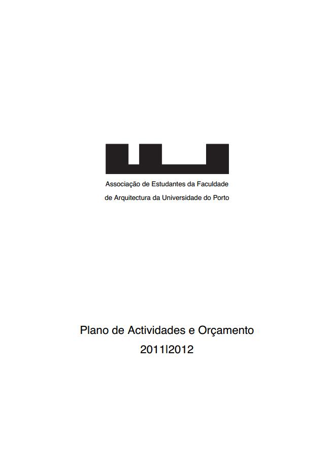 PLANO DE ACTIVIDADES 2011/2012