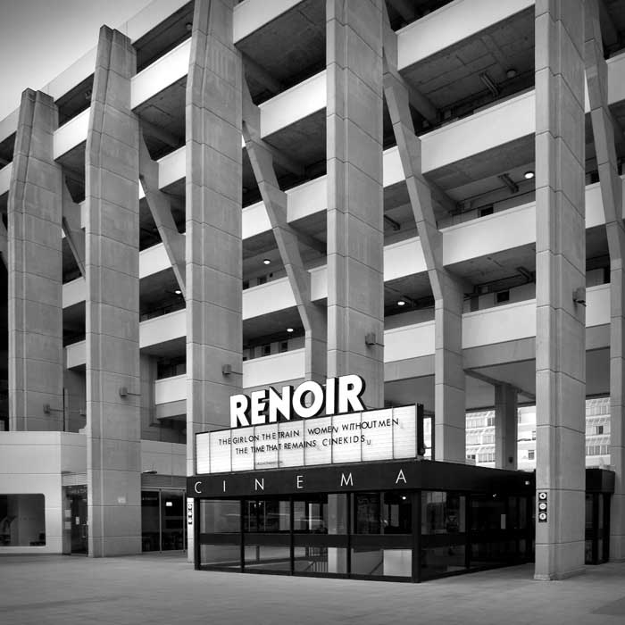 The Renoir Cinema in the Brunswick (Centre), Bloomsbury, London. Designed by Patrick Hodgkinson.