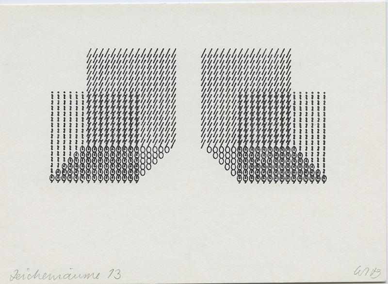 Zeichenreaum 13, 1970's