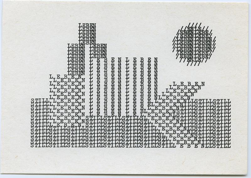 Still Leben I, 1970's