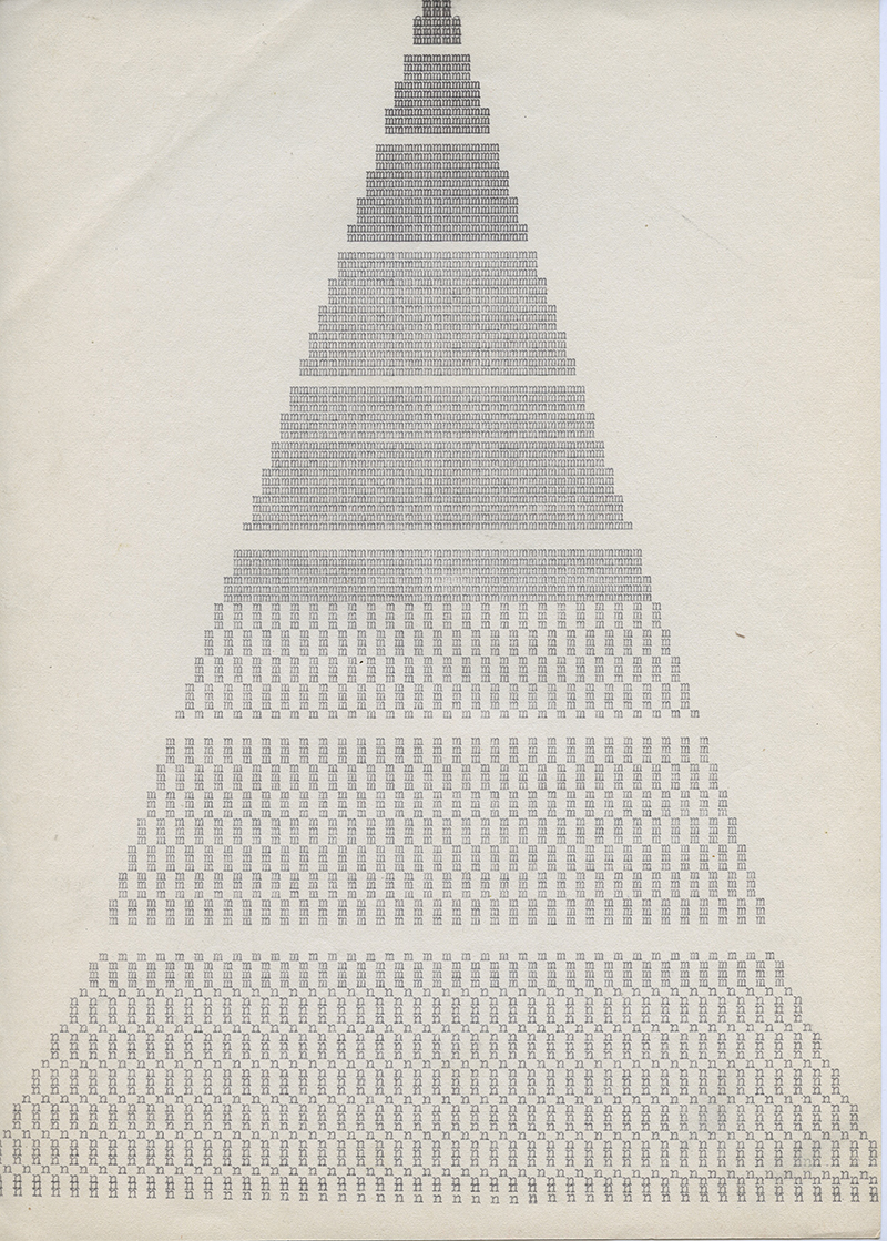 Untitled , middle 1970's