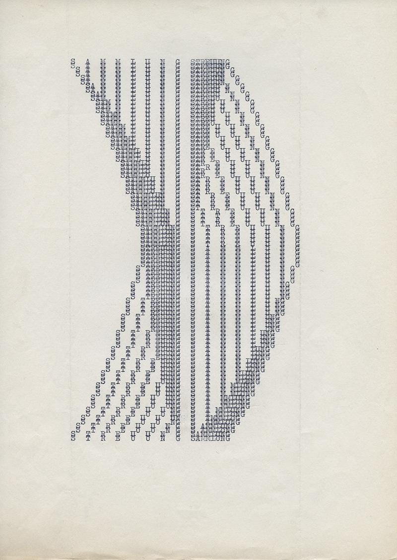 Sammlung Stellung, 1974