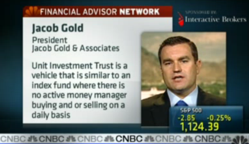 Watch this handy CNBC video with an excellent explanation of UITs.
