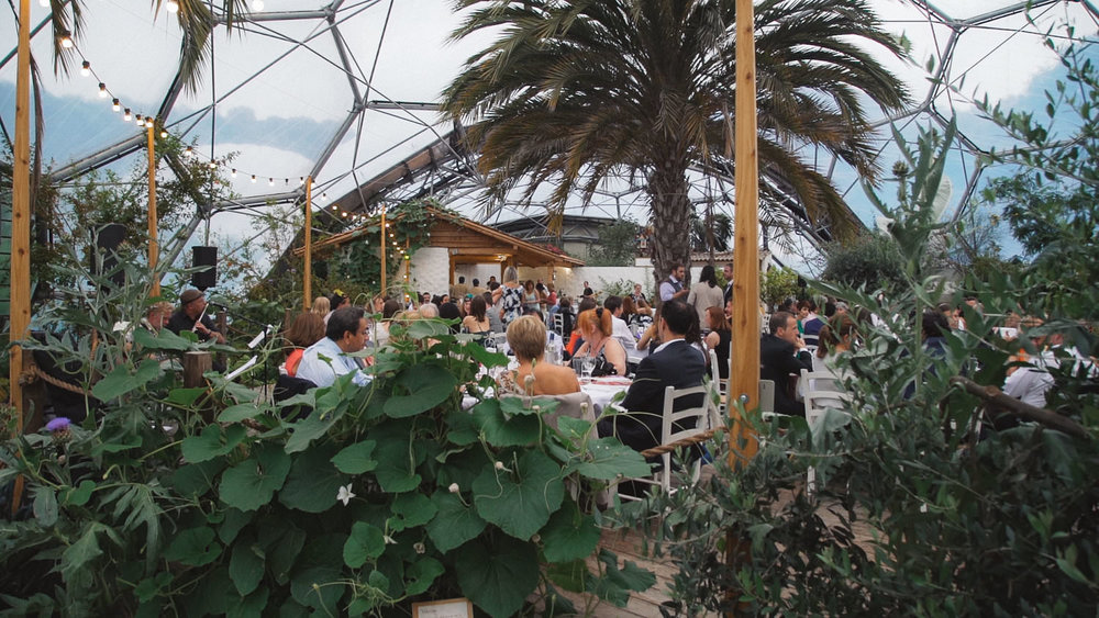 Eden Project, Cornwall - Wedding Videography