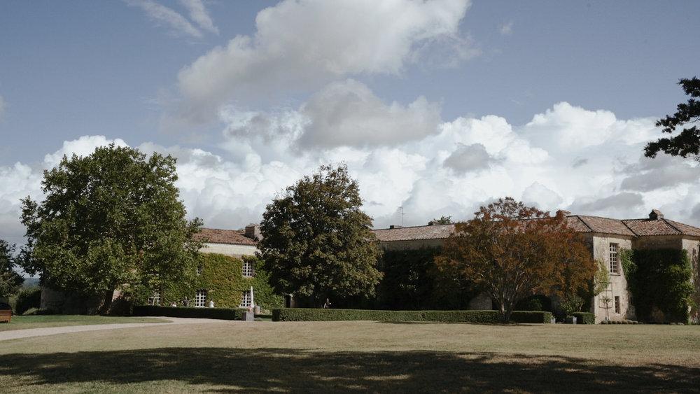 Chateau Rigaud near the Bordeaux region